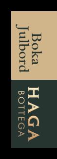 Boka Julbord på Haga Bottega